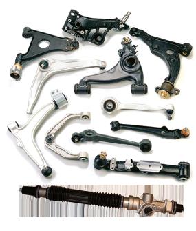 Детали подвески и рулевого управления